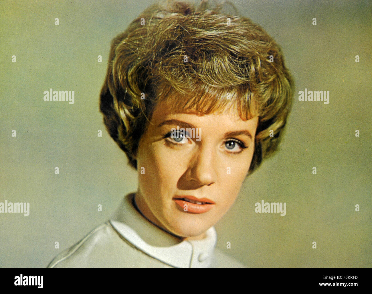 Torn curtain julie andrews - Stock Photo The British Actress Julie Andrews In A Scene From The Film Torn Curtain