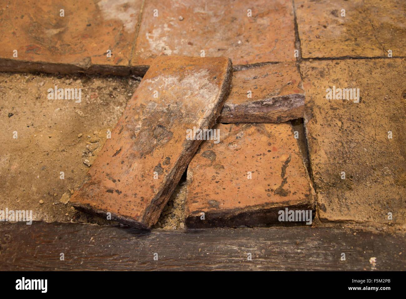Clay floor tile columbialabelsfo broken clay floor tile stock photo 89566355 alamy dailygadgetfo Image collections