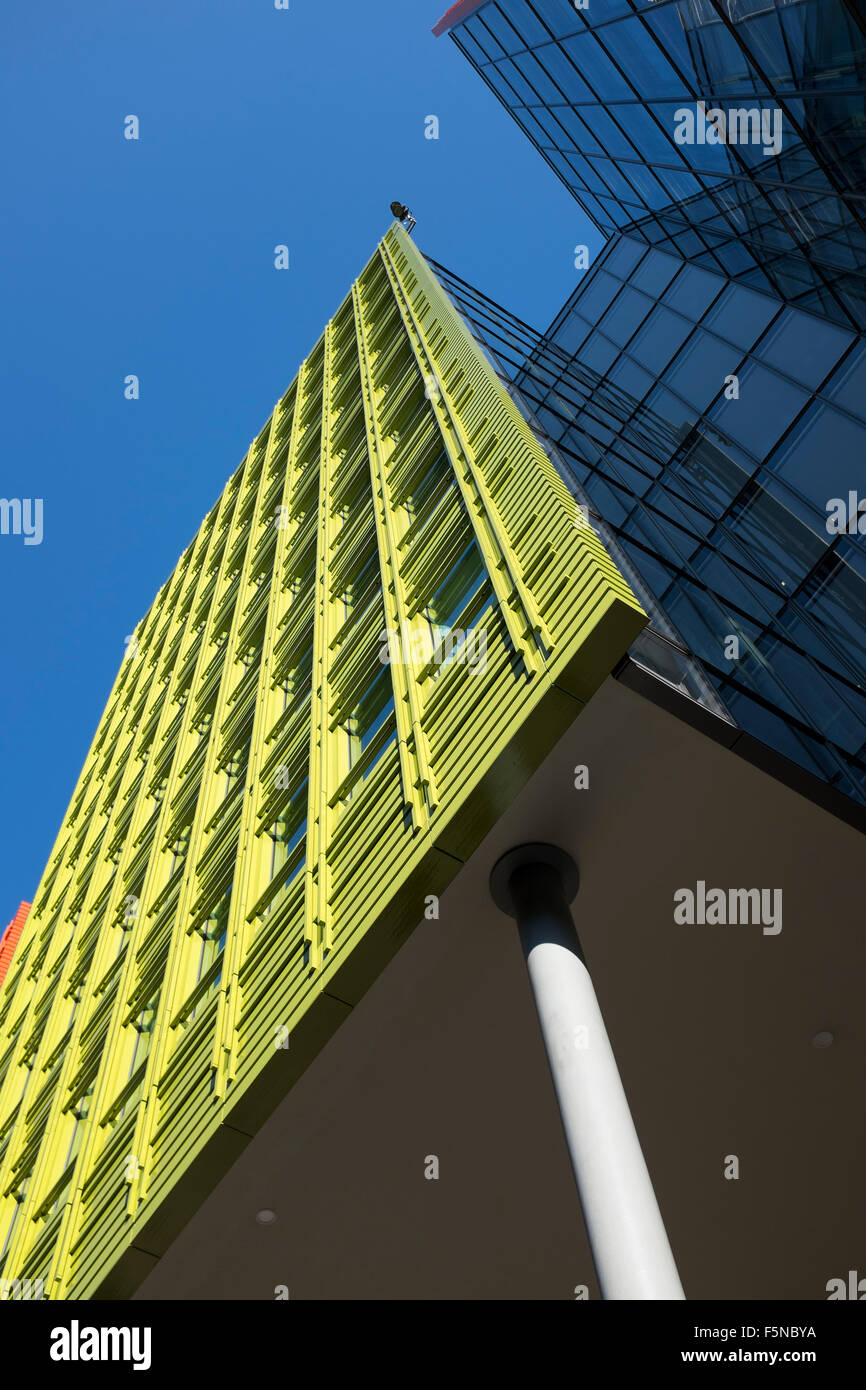 brightly colored office blocks at central st giles london where google has its offices brightly colored offices central st
