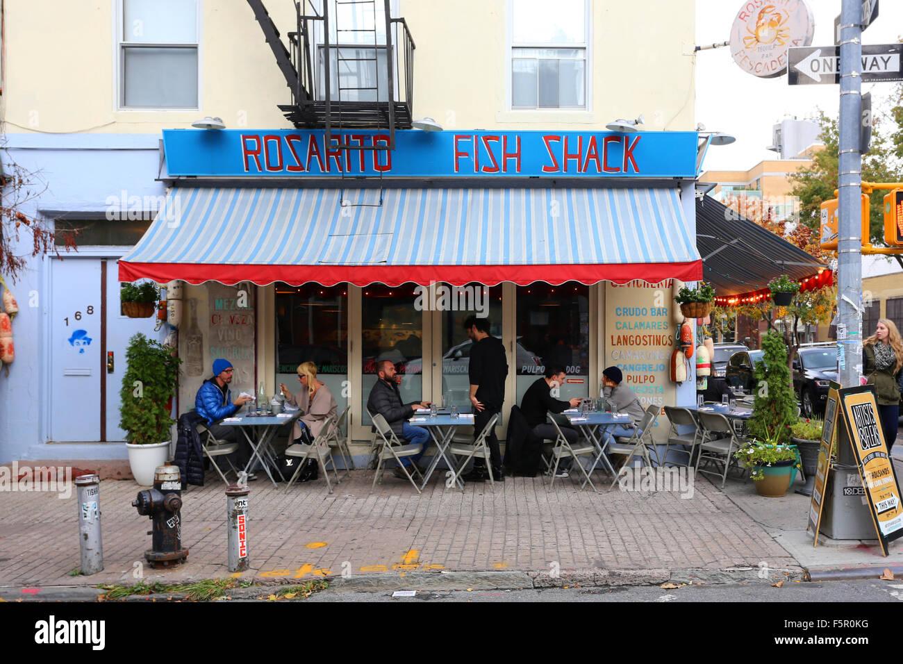 Rosarito Fish Shack 168 Wythe Ave Brooklyn Ny Stock