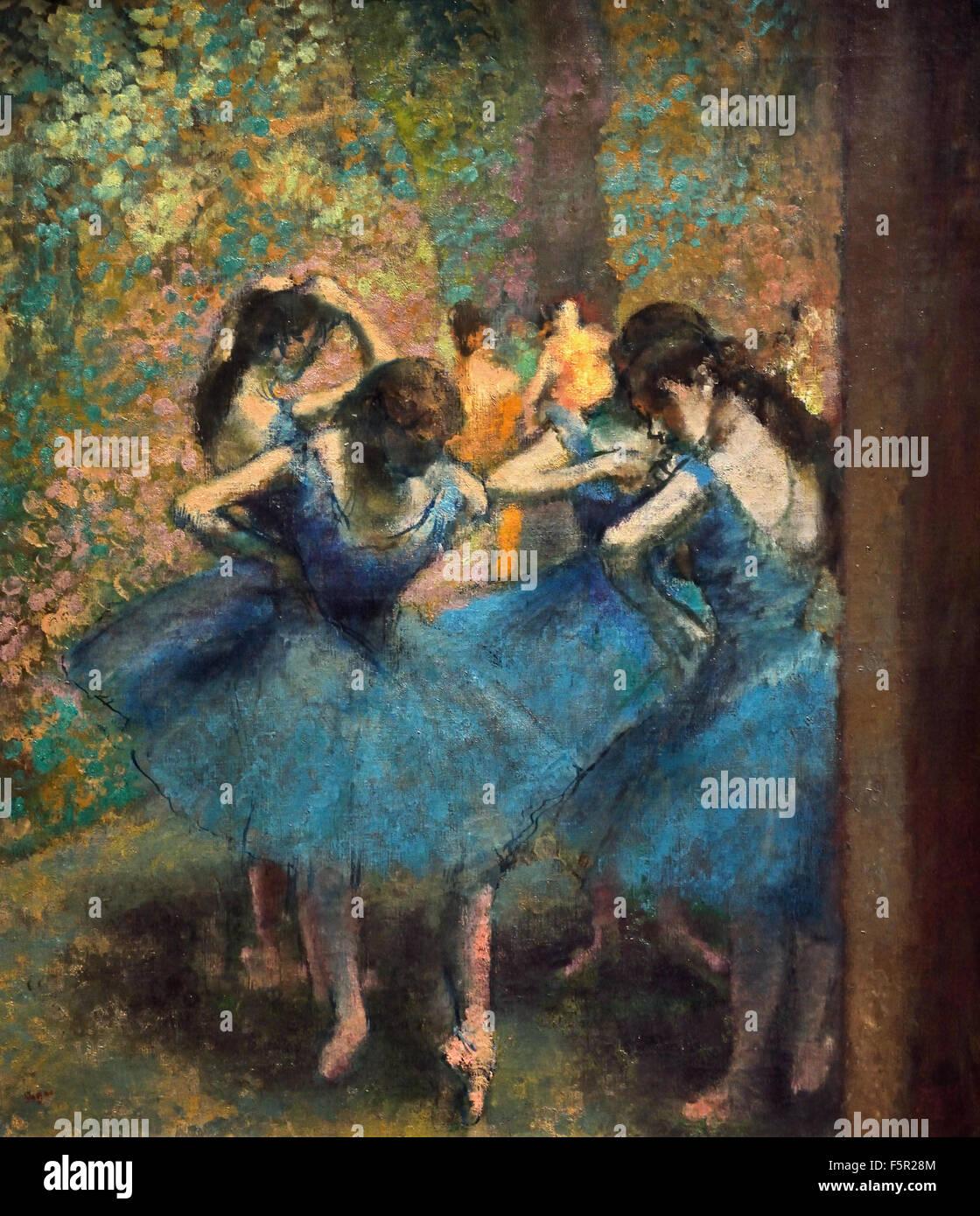 edgar degas en francais Hilaire germain edgar (edgar) degas (parijs, 19 juli 1834 – parijs, 26 september 1917) was een franse impressionistisch kunstschilder en beeldhouwer répétition d'un ballet sur la scène , 1874 de tobbe , pastel, 1886.