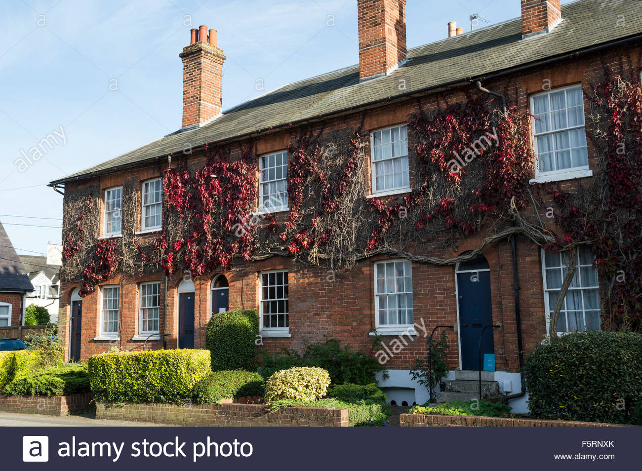 Prime A Row Of Pretty Terraced Houses With Small Front Gardens And Largest Home Design Picture Inspirations Pitcheantrous