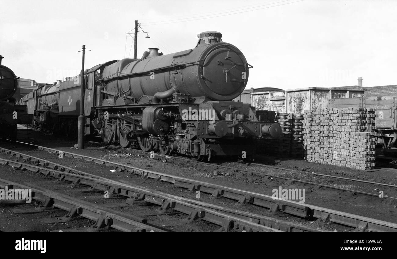 Steam Locomotive King Class 6022 At Wolverhampton Stafford