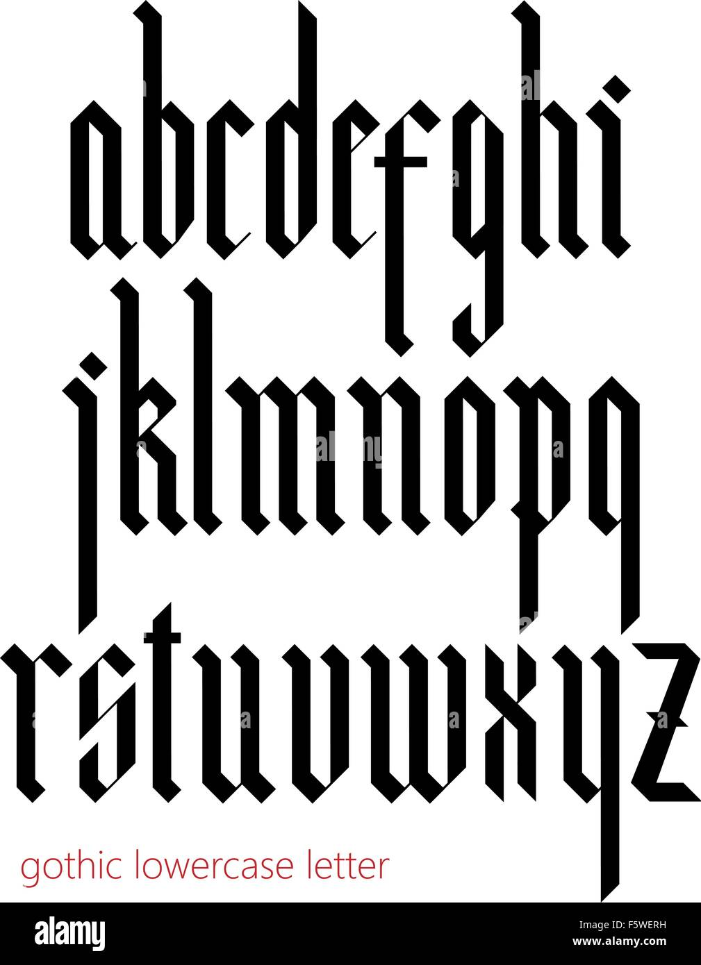 Modern Gothic Fonts Images Galleries