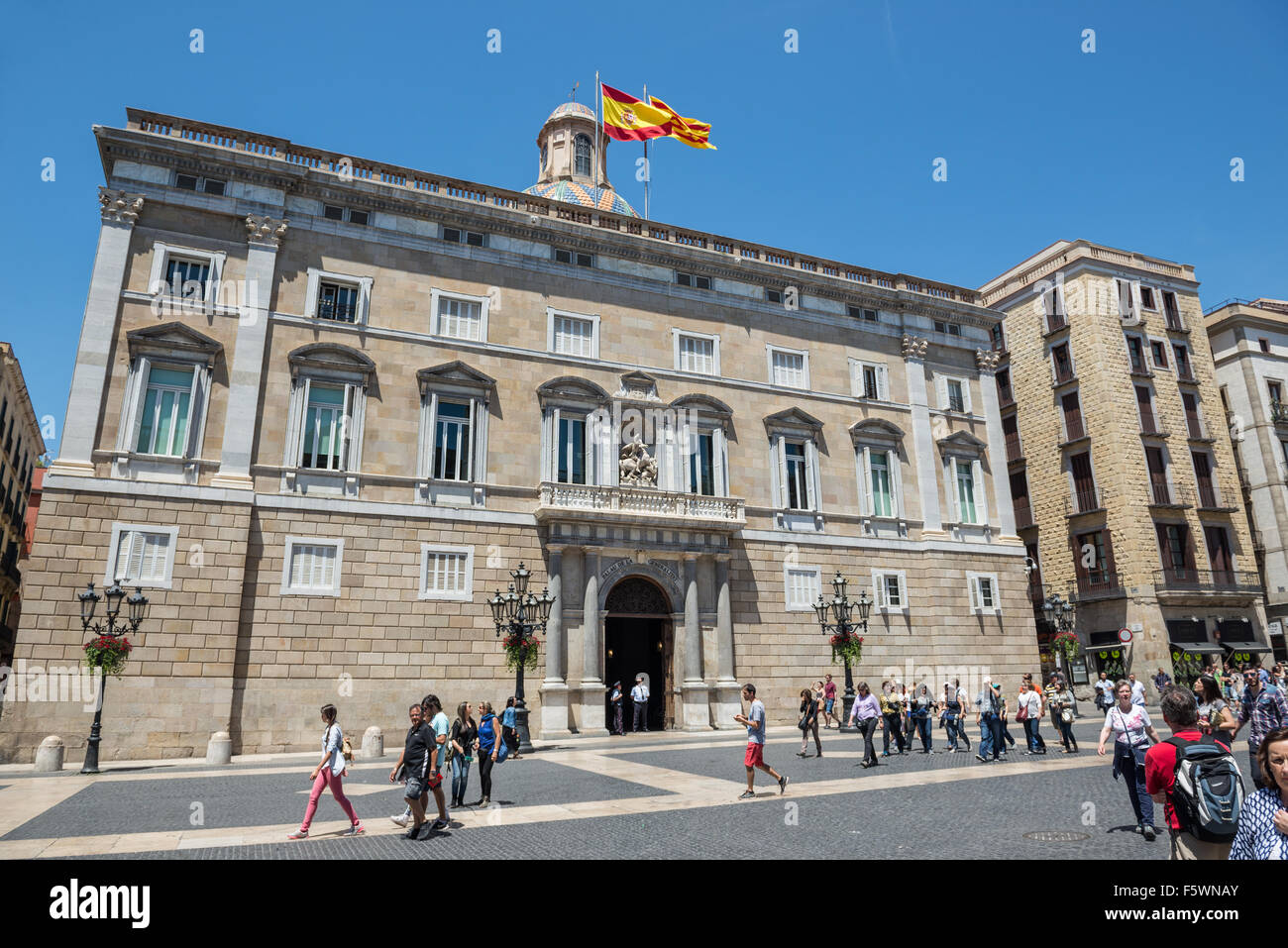 Palace of the government of catalonia palau de la - Hotel palace de barcelona ...