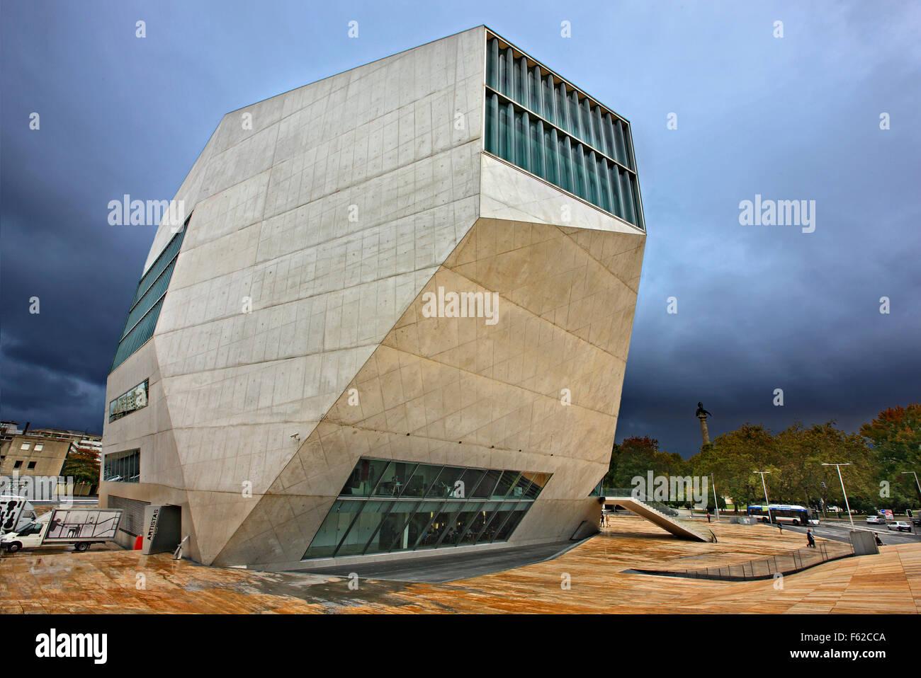 Casa da musica porto portugal architect rem koolhaas for Da architecture