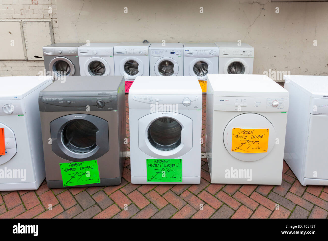 old washing machines and second hand tumble dryers for. Black Bedroom Furniture Sets. Home Design Ideas