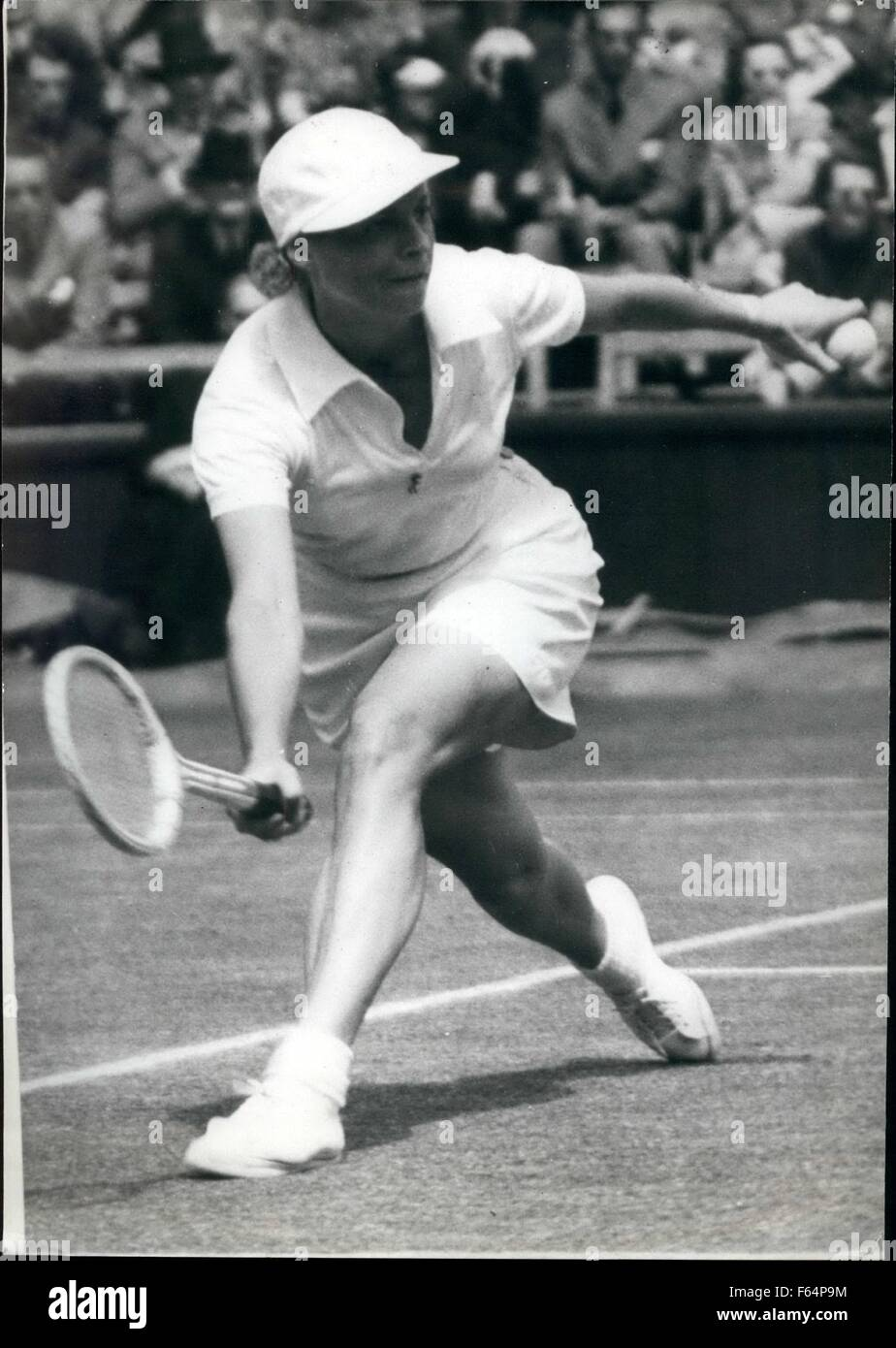 1940 Wimbledon Alice Marble Match Alice Marble September 28