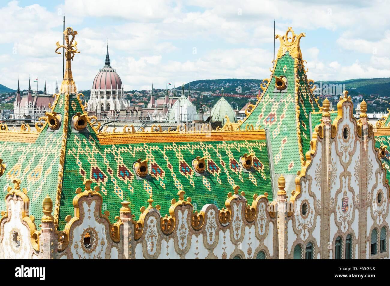 Art nouveau architecture by d n lechner the colourful - Art nouveau architecture de barcelone revisitee ...