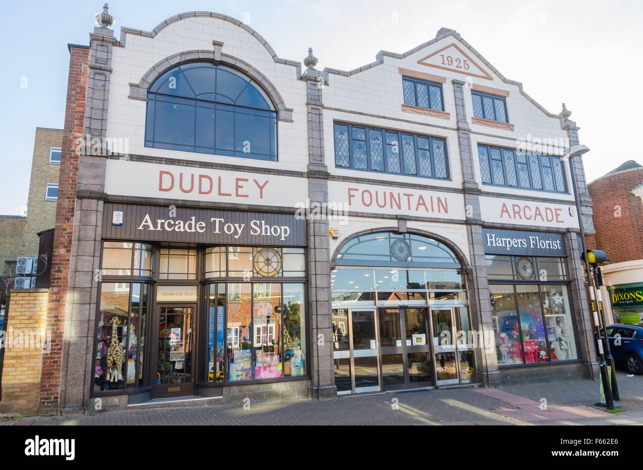 dudley fountain arcade a 1920 39 s art deco shopping arcade