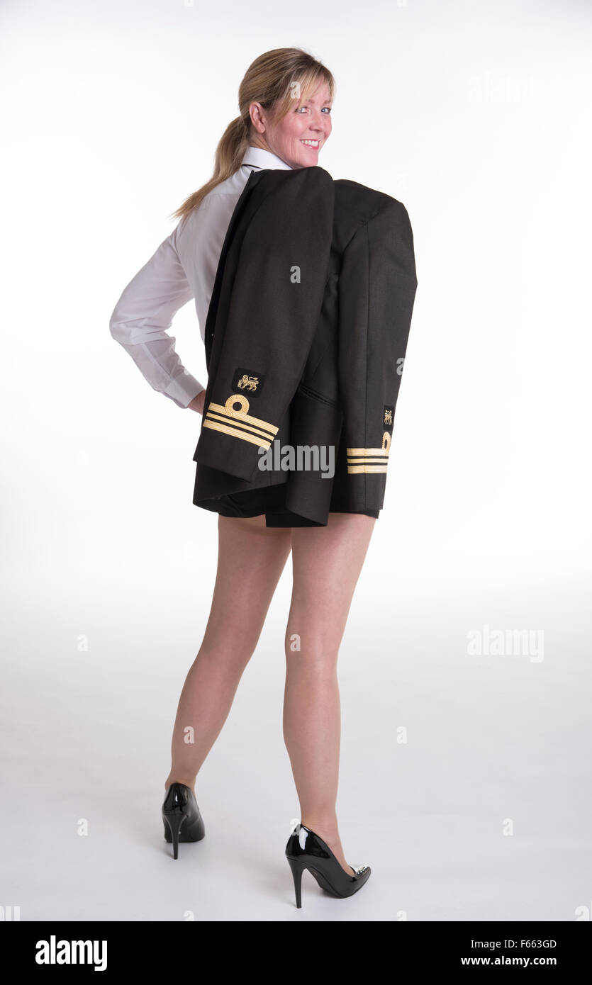 Female Naval Officer Uniform 94