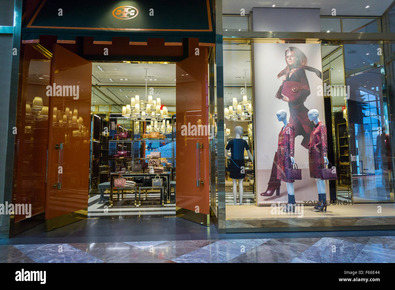 The Tory Burch store in the Brookfield Place mall in New York on Friday,  November