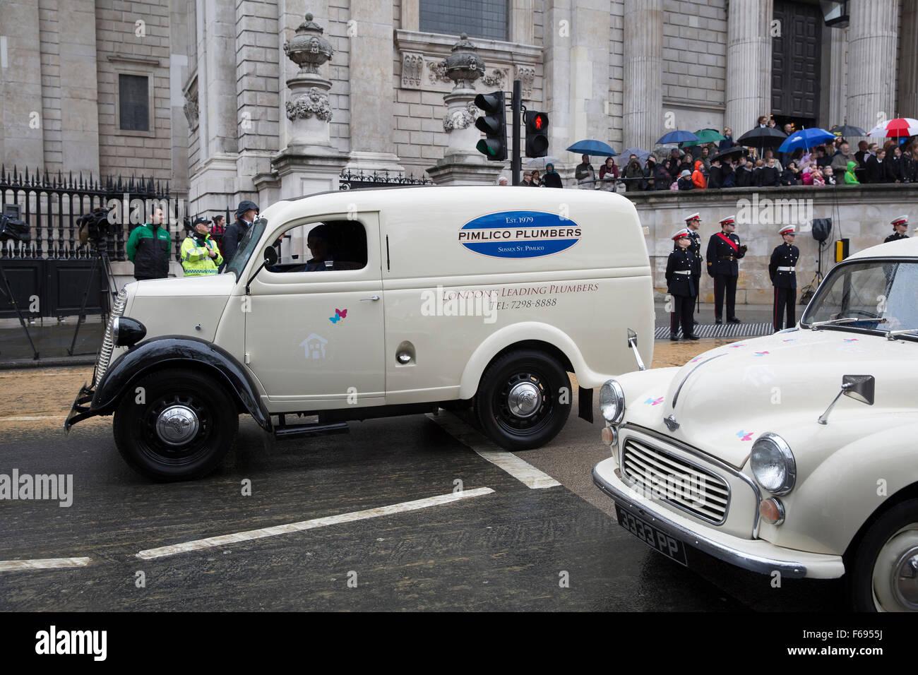 Pimlico Plumbers van, London, UK Stock Photo, Royalty Free Image ...