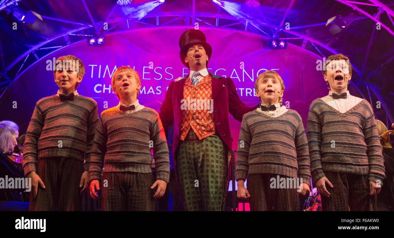 Charlie And Chocolate Factory Broadway November