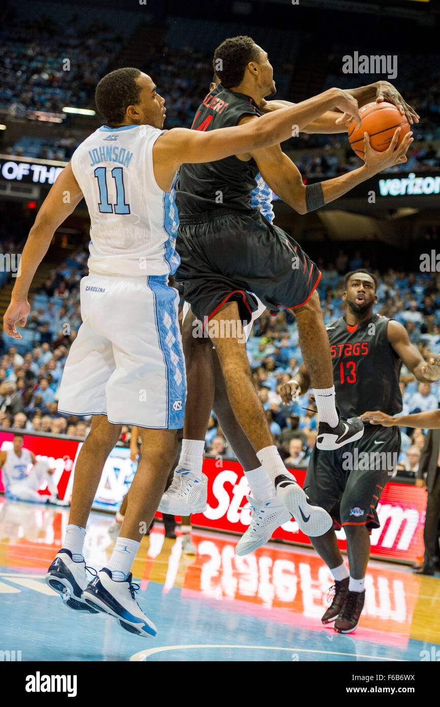 Fairfield Forward Marcus Gilbert 14 during the NCAA Basketball