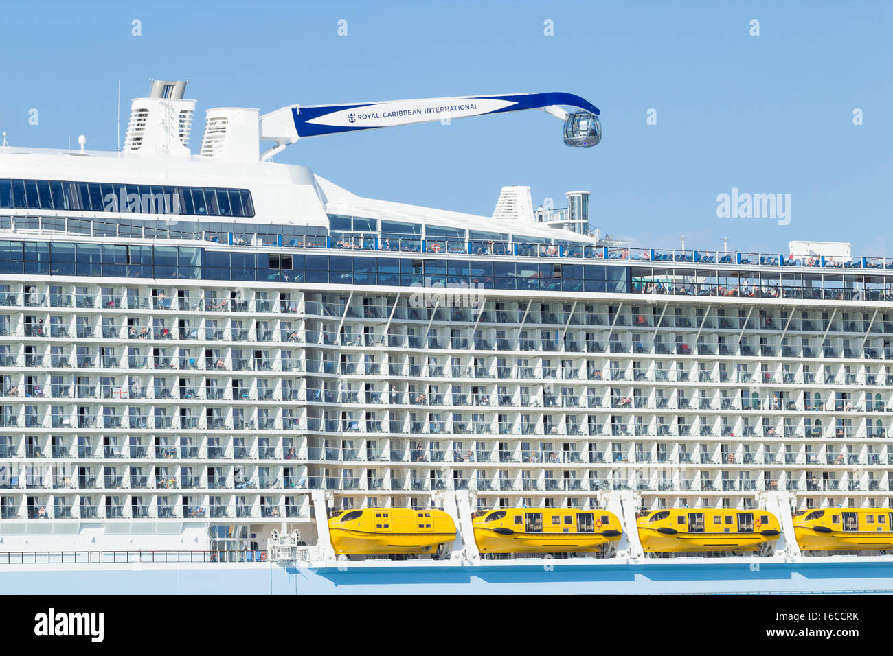 Anthem Of The Seas Cruise Ship And Northstar Observation