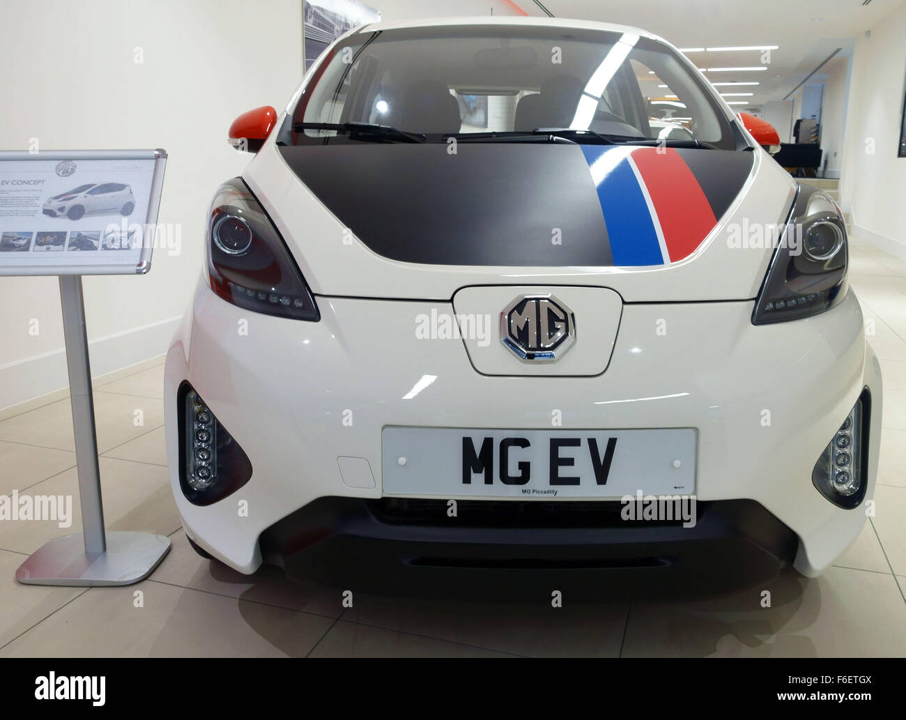MG EV electric concept car which could go into production ...