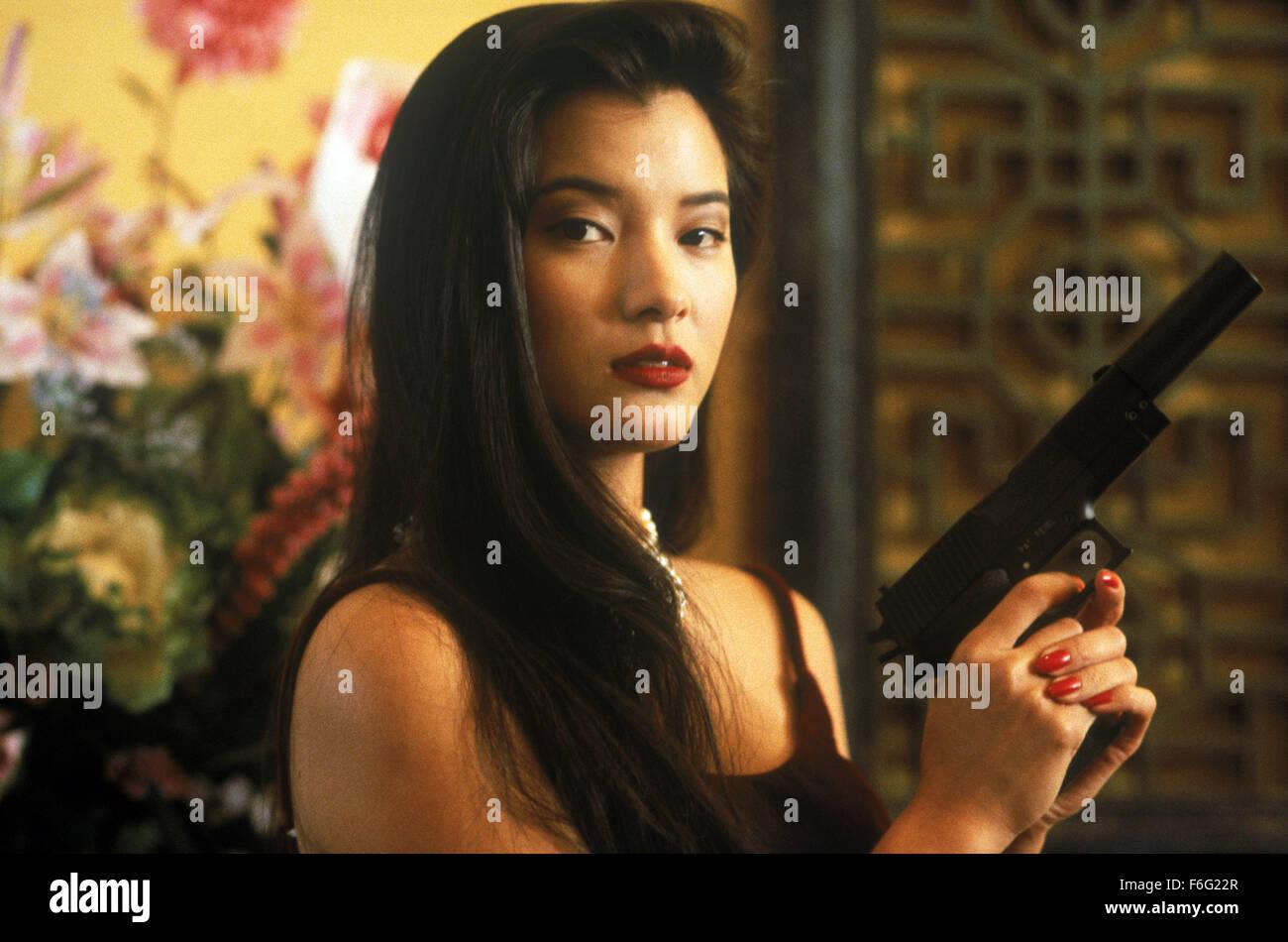 Bill Paxton May 13 1995 Los Angeles Ca Usa Kelly Hu As Seiko