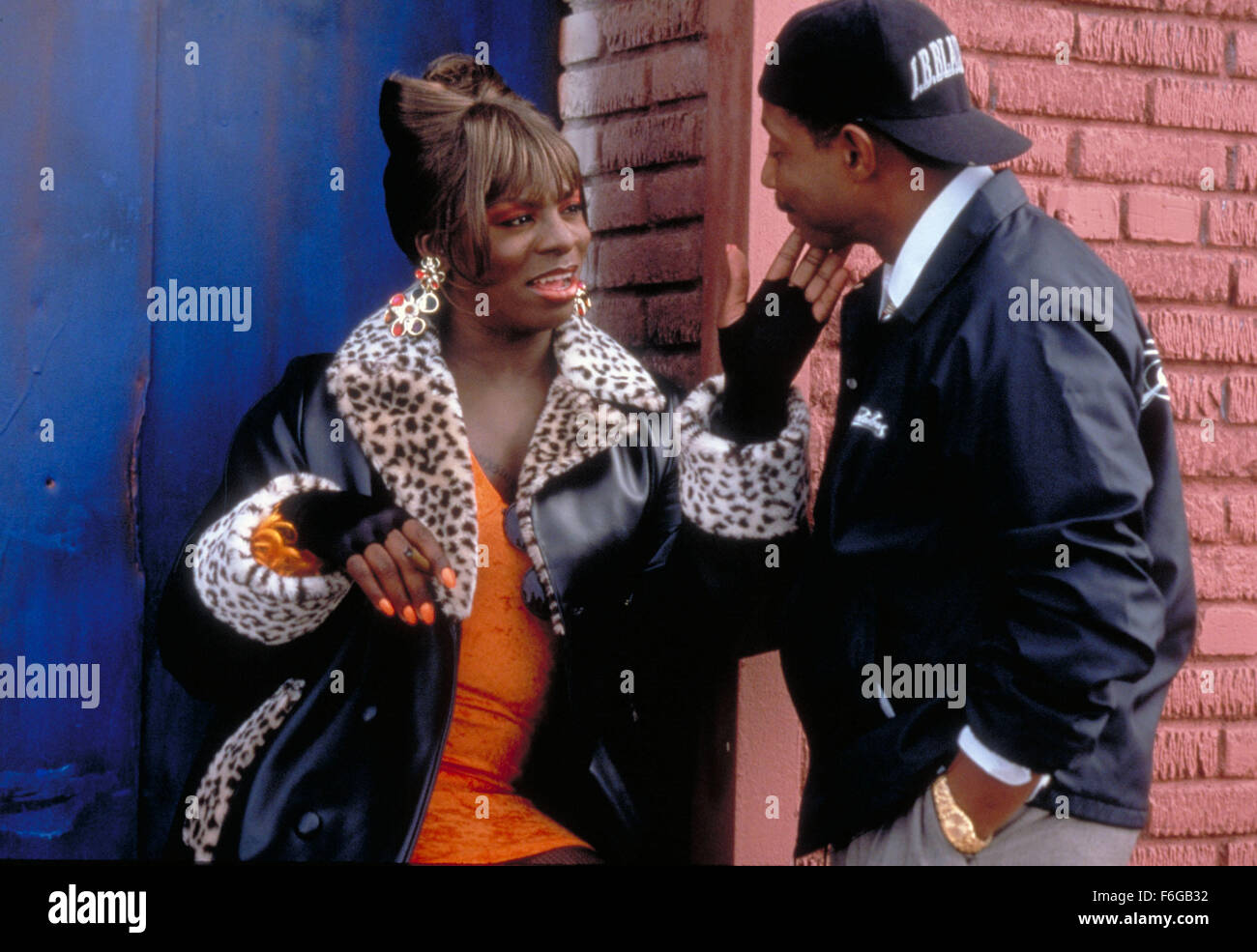 who played blue in i got the hook up