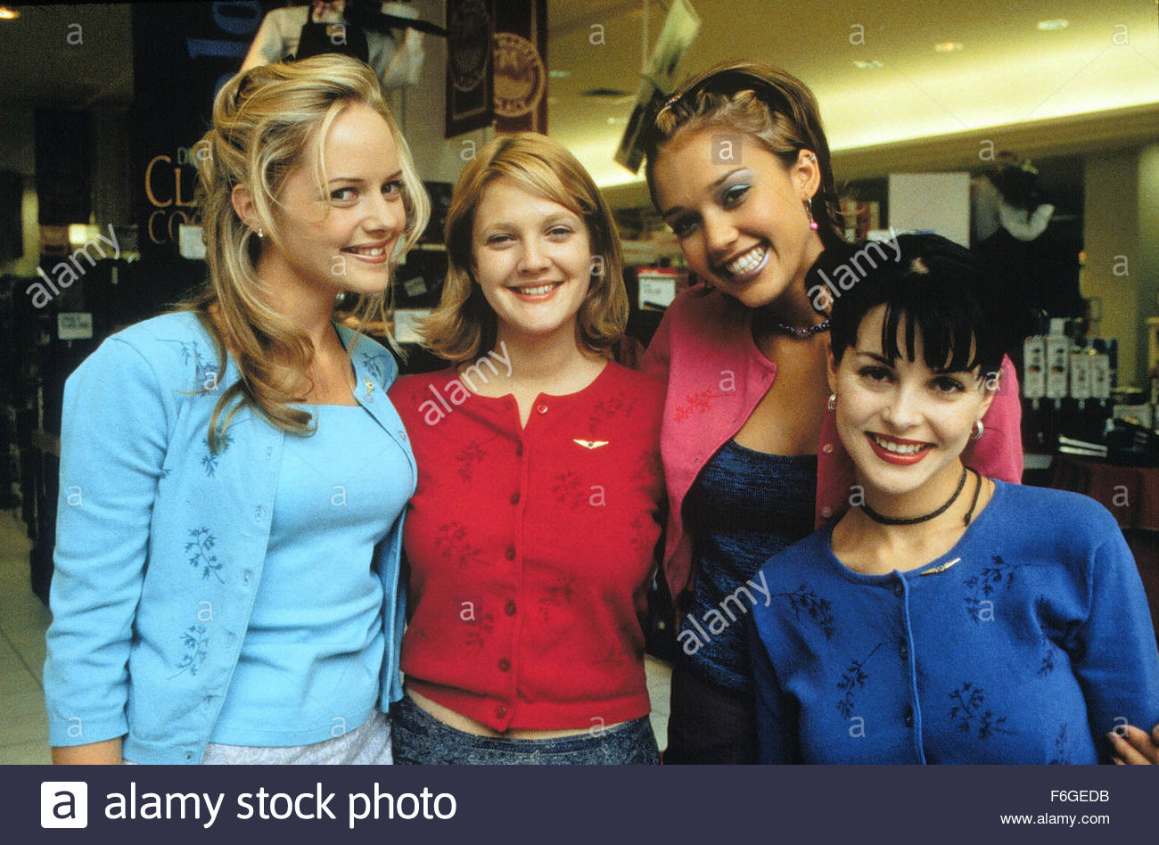 image gallery never been kissed cast