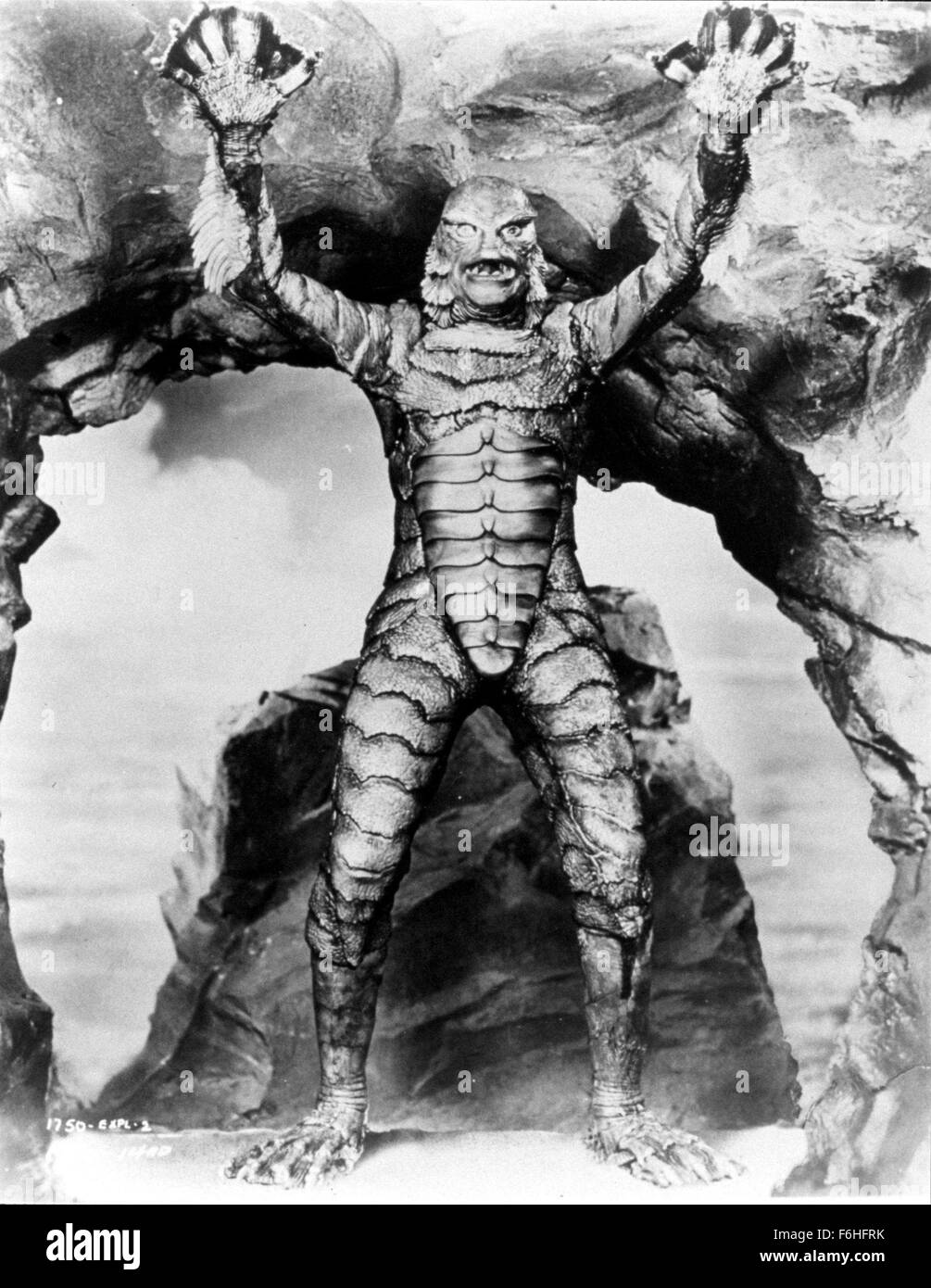 1954, Film Title: CREATURE FROM THE BLACK LAGOON, Director ...