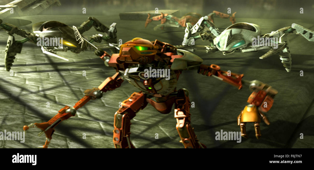 release date october 11 2005 movie title bionicle 3