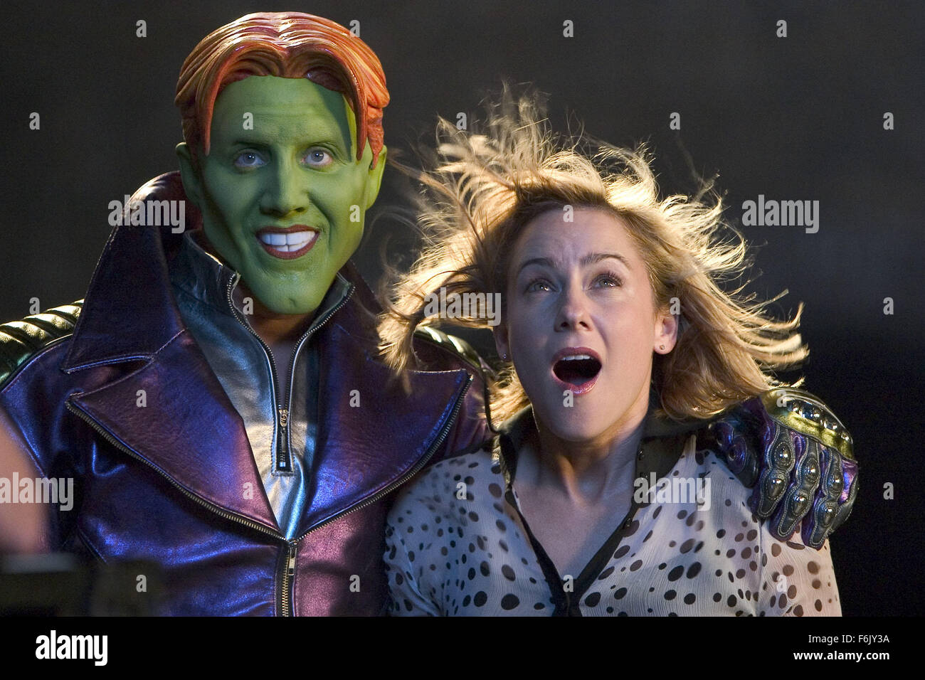 JAMIE KENNEDY & TRAYLOR HOWARD SON OF THE MASK (2005 Stock Photo ...