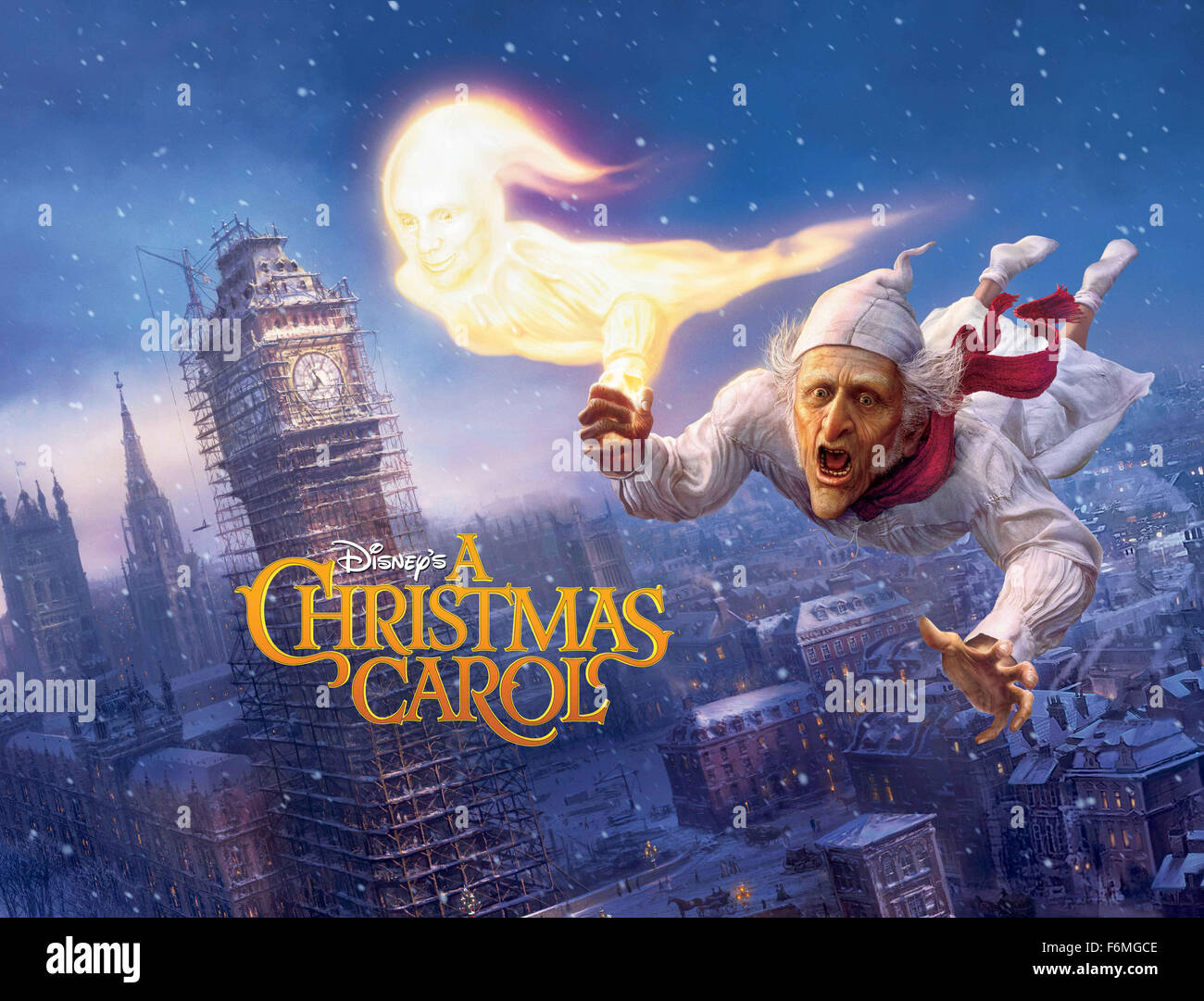 RELEASE DATE: November 6, 2009. MOVIE TITLE: A Christmas Carol Stock Photo, Royalty Free Image ...