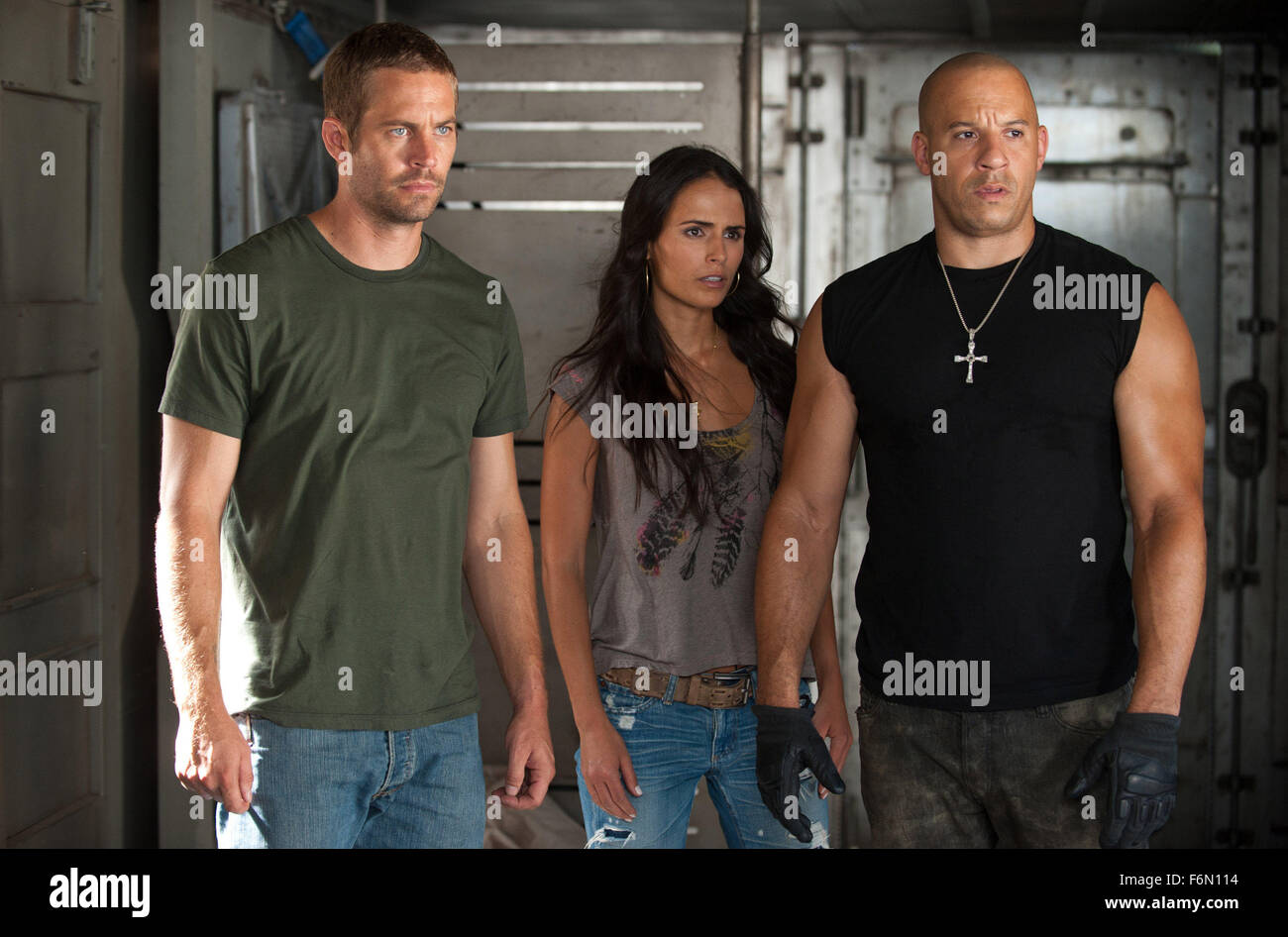 Fast furious 5 paul walker jordana brewster and vin diesel