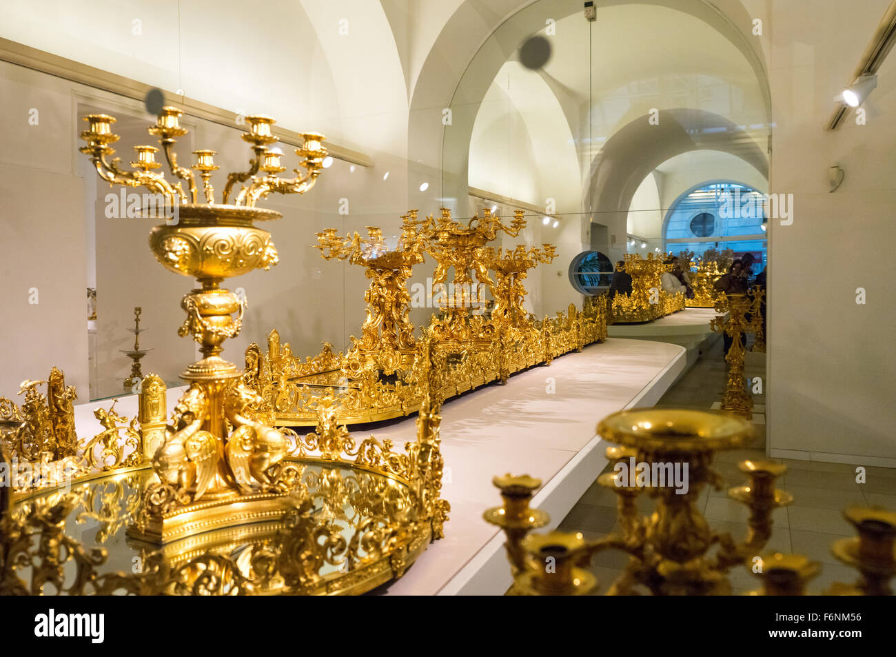 Imperial furniture - Austria Vienna The Hofburg The Imperial Furniture Collection Stock Image