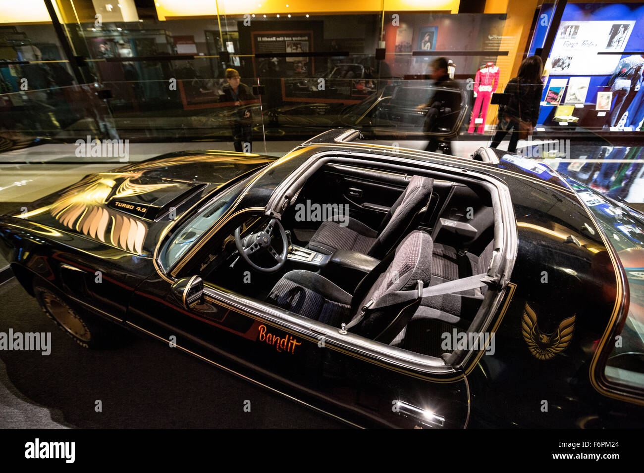 Pontiac Trans Am Owned By Burt Reynolds From The Movie