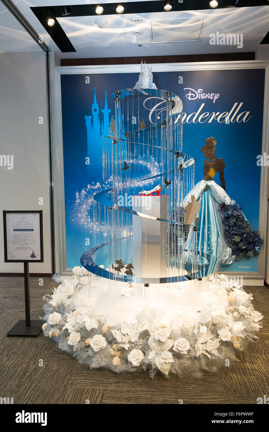 Tokyo, Japan. 19th Nov, 2015. The ''Disney Cinderella Platinum ...