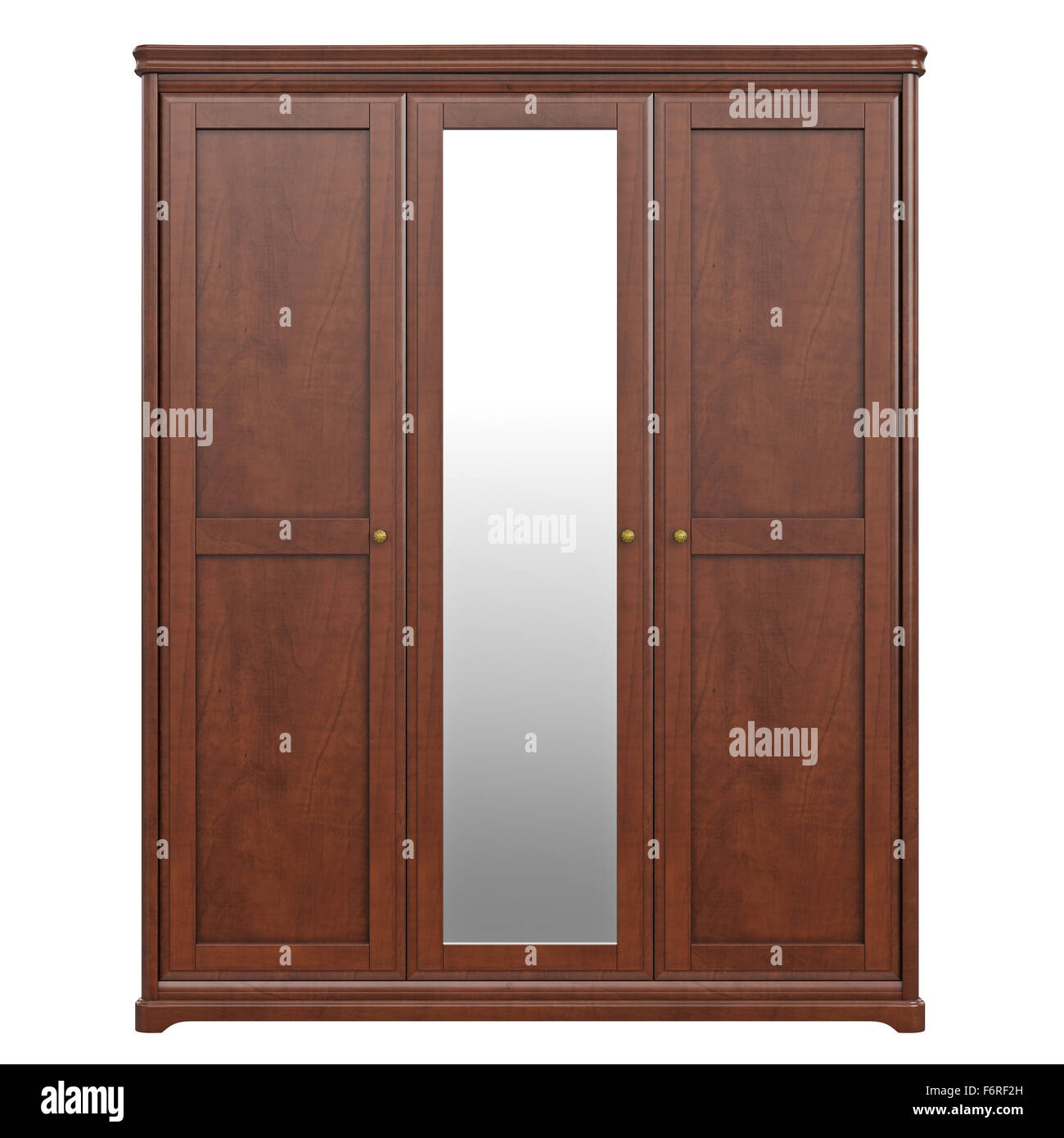 Cabinet wardrobe, front view Stock Photo, Royalty Free Image ... for Wardrobe Front View  183qdu