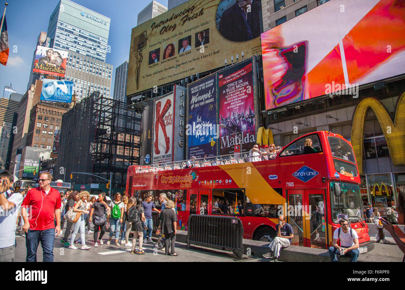 New York Double Decker Bus Tours. Book Online and Save $ All Around Town 24 Hour Tour + Free Boat Tour. See New York City from the top with this special combo ticket that includes both our All Around Town Tour and tickets to the Top of the Rock. SEE DETAILS +.