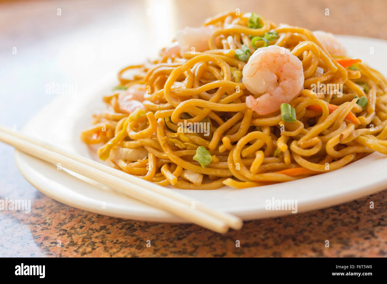 Delicious chinese food shrimp lo mein stir fry stock photo royalty free image 90271244 alamy - Delicious chinese cuisine ...