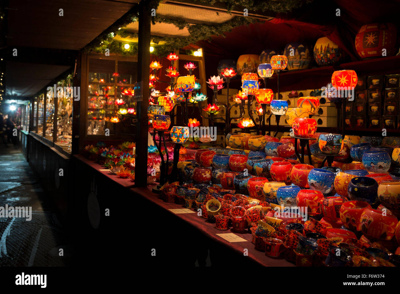 London UK November A Germanstyle Christmas Market - Winter wonderland london map 2016