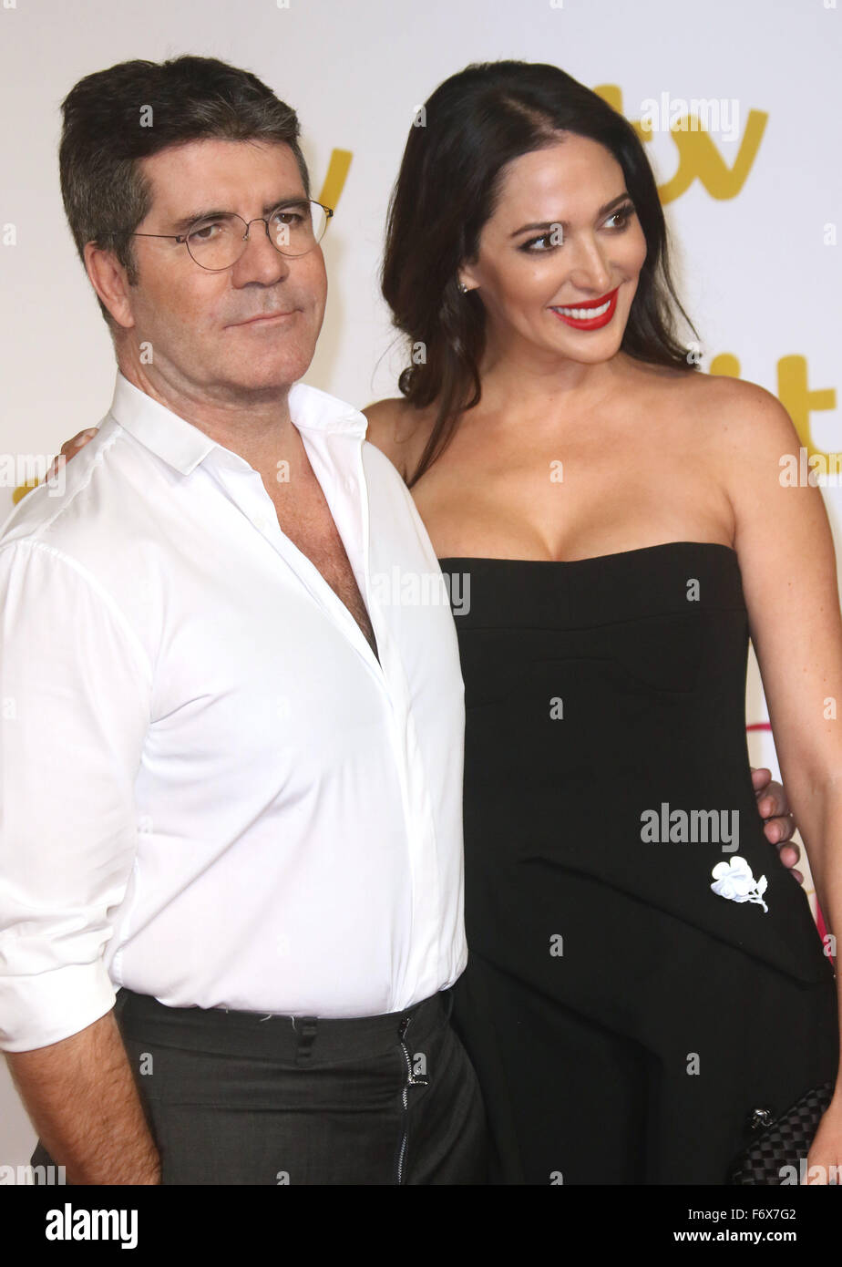 Simon cowell and lauren silverman 2015