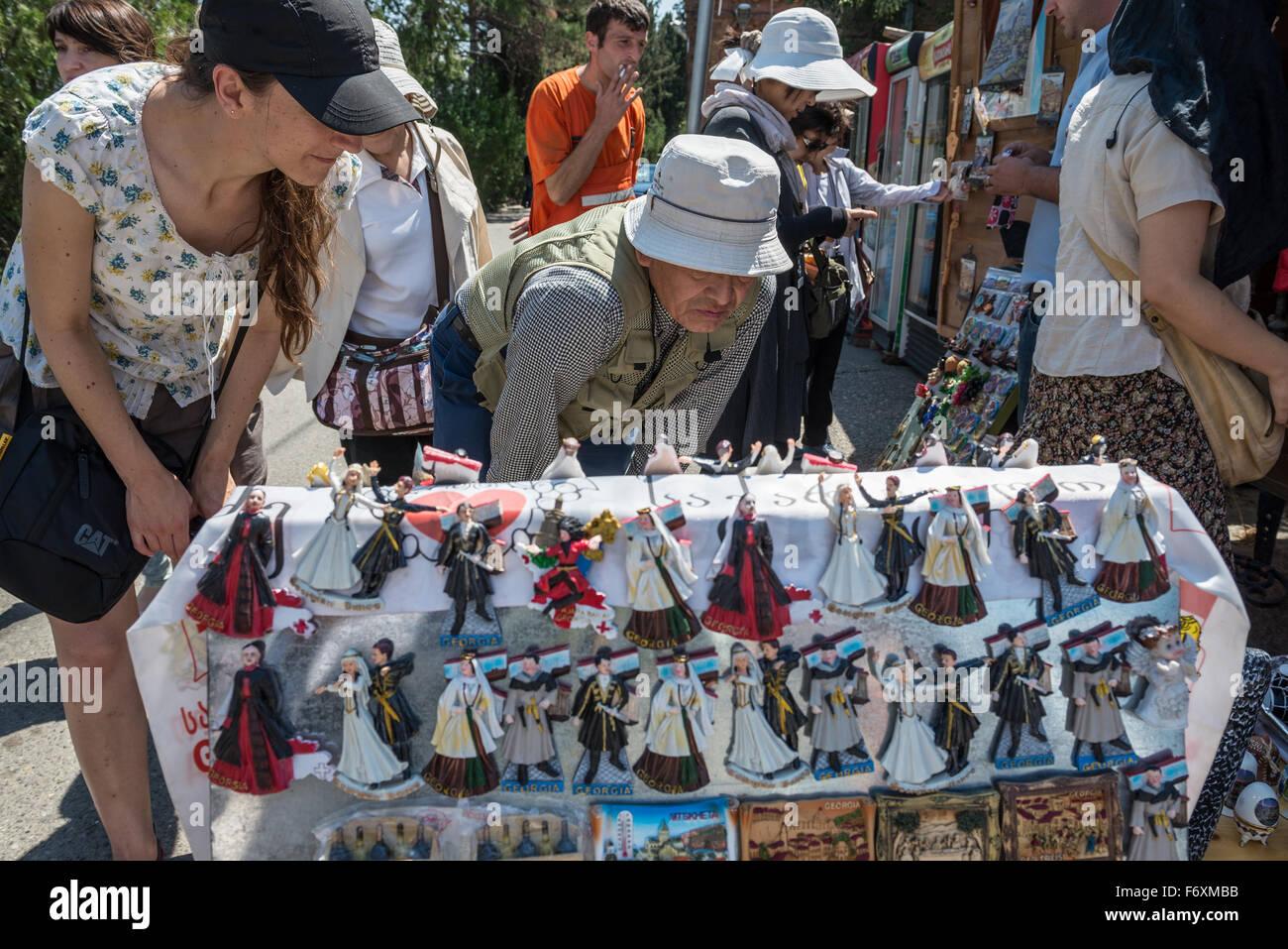 Georgian Souvenirs Stock Photos Georgian Souvenirs Stock