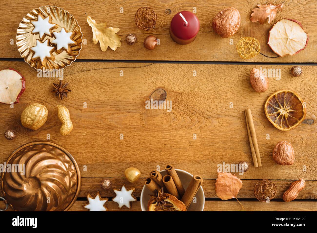 christmas background mockup postcard or website header