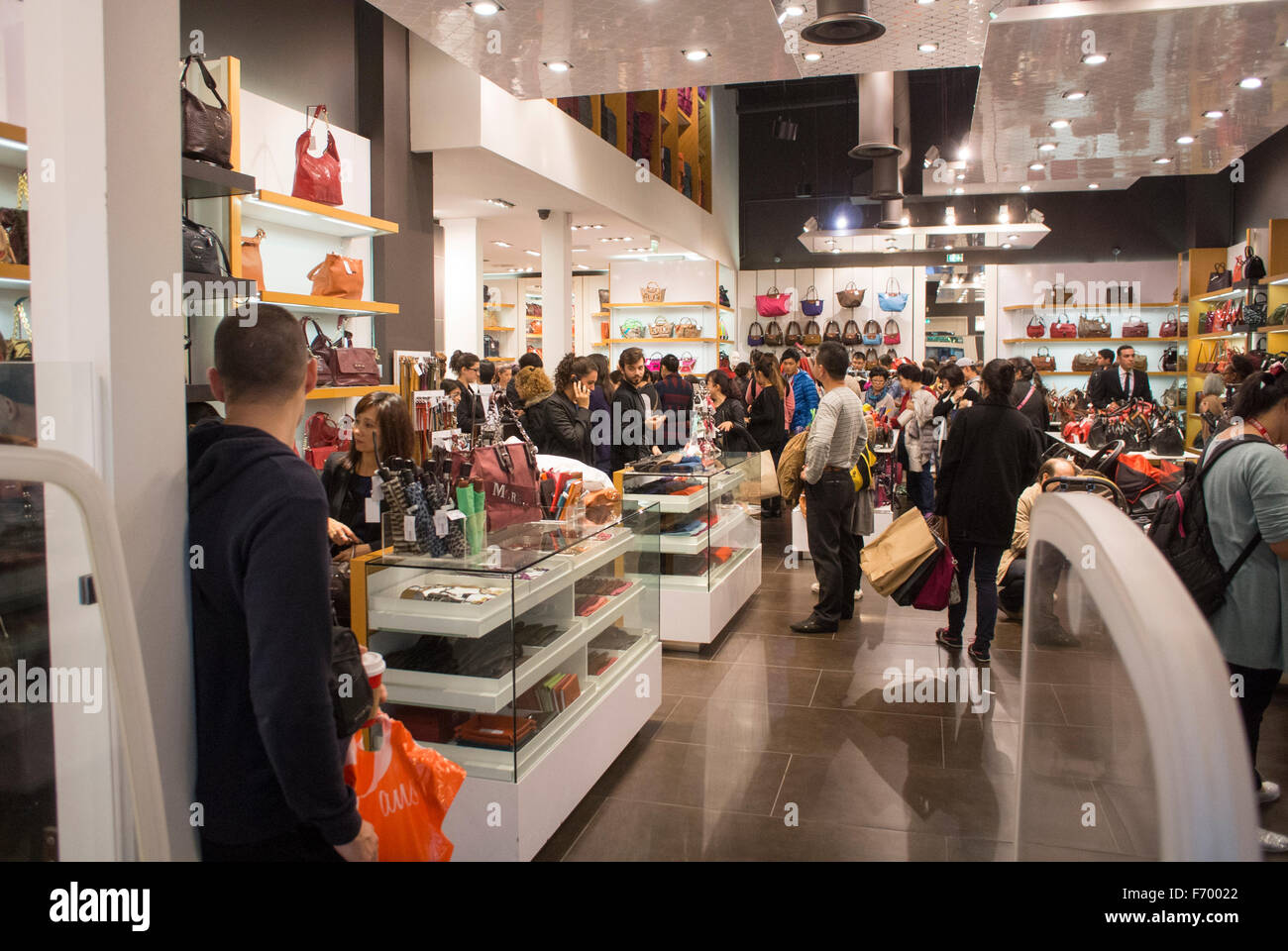 Paris, France, People Shopping in Luxury Outlet Mall ...