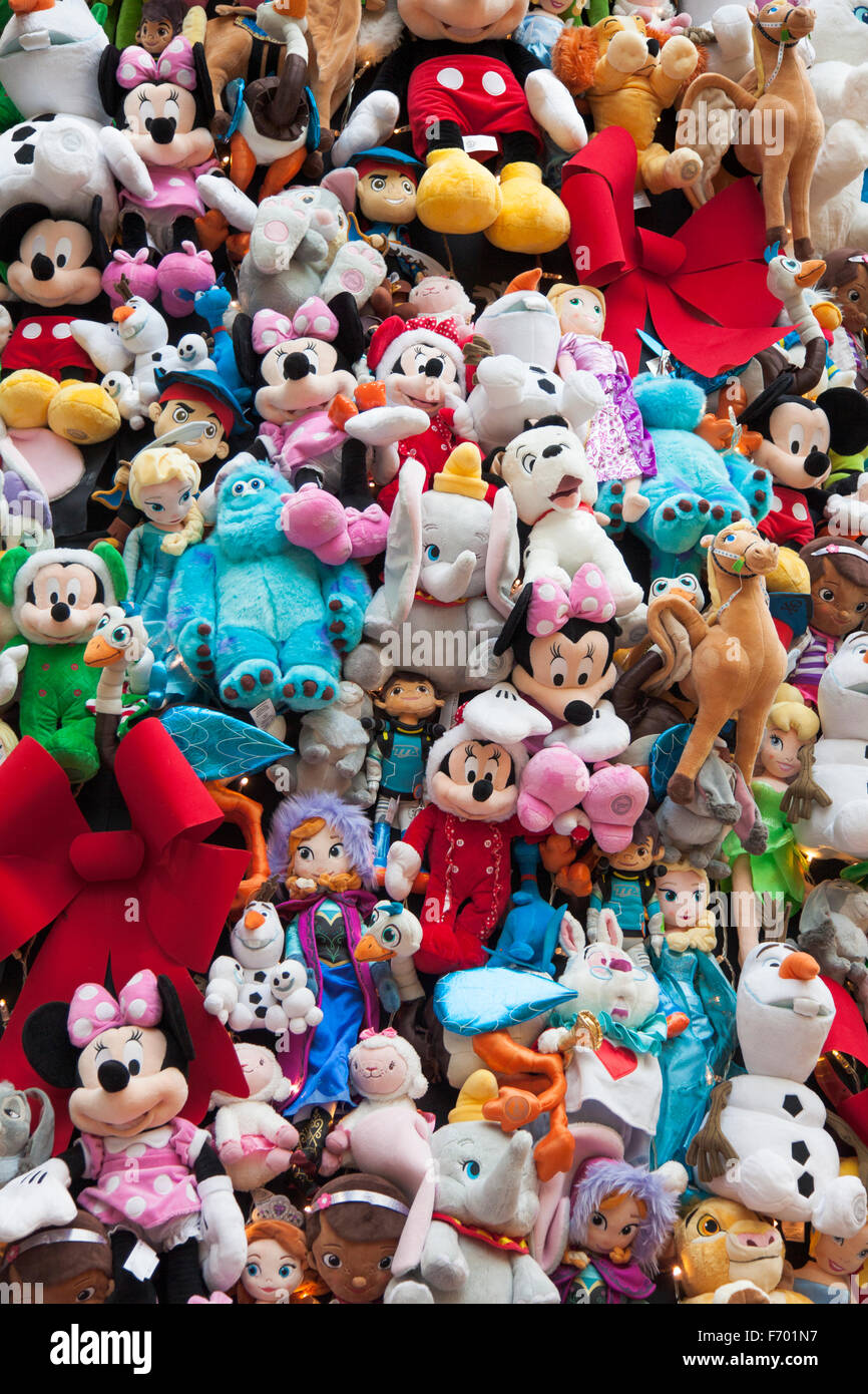 Christmas Toys Disney : Disney characters soft toys that make up the