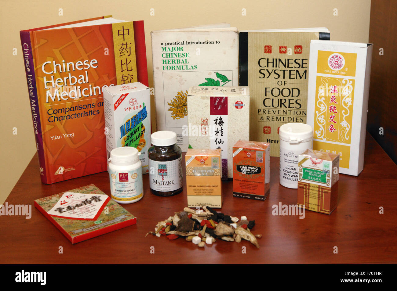 Chinese herbal products - Selection Of Chinese Herbal Medicine Books And Products