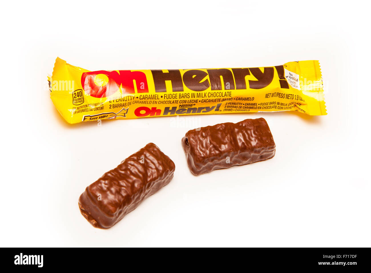 how to make oh henry bars