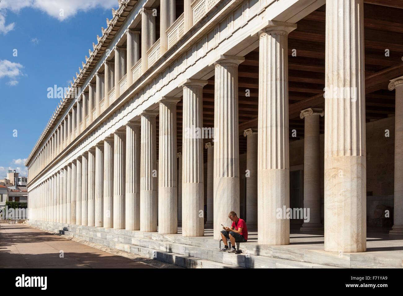 Stoa Of Attalos And Agora Museum Ancient Agora Of Athens