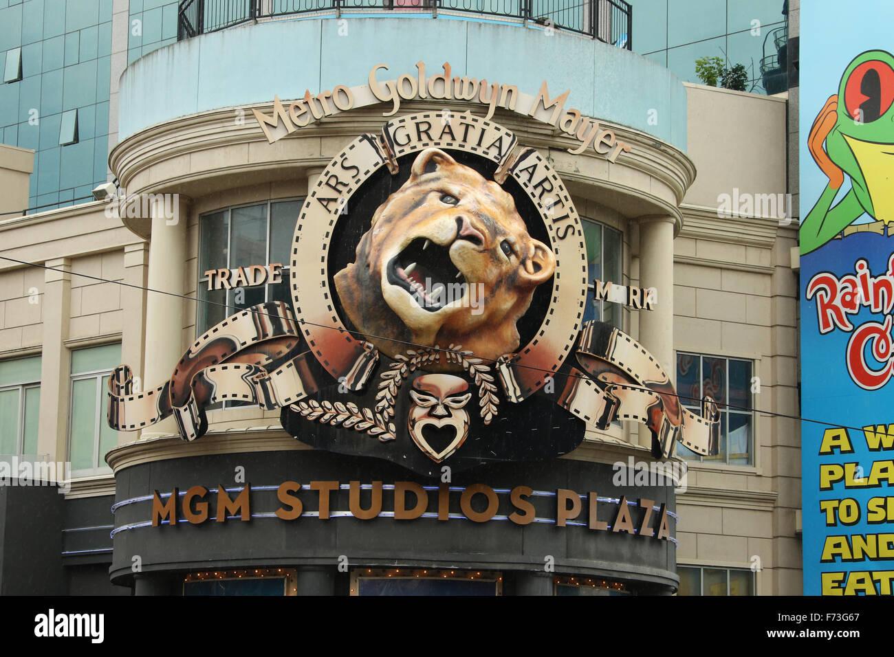 Metro Goldwyn Mayer Mgm Studios Plaza Leo The Lion