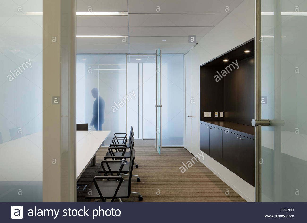 Conference Room In Mount Sinai School Of Science And Medicine New York City State USA