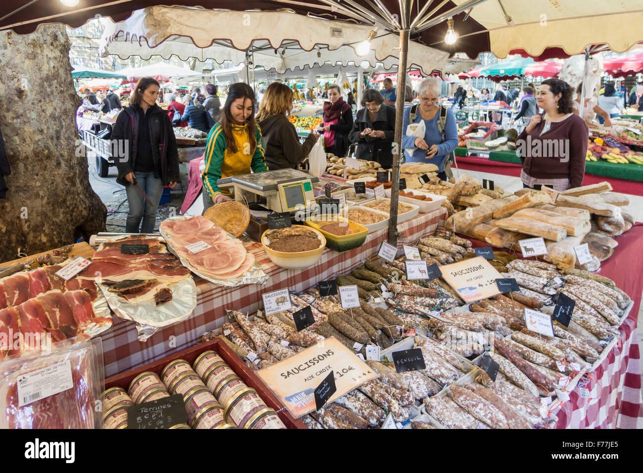 Market place richelme deli food sausages aix en for Aix en provence cuisine