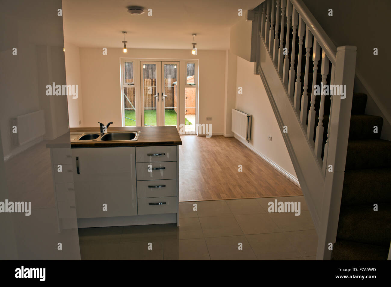 Inside a brand new taylor wimpey new build style of a two for 5 bedroom new build homes