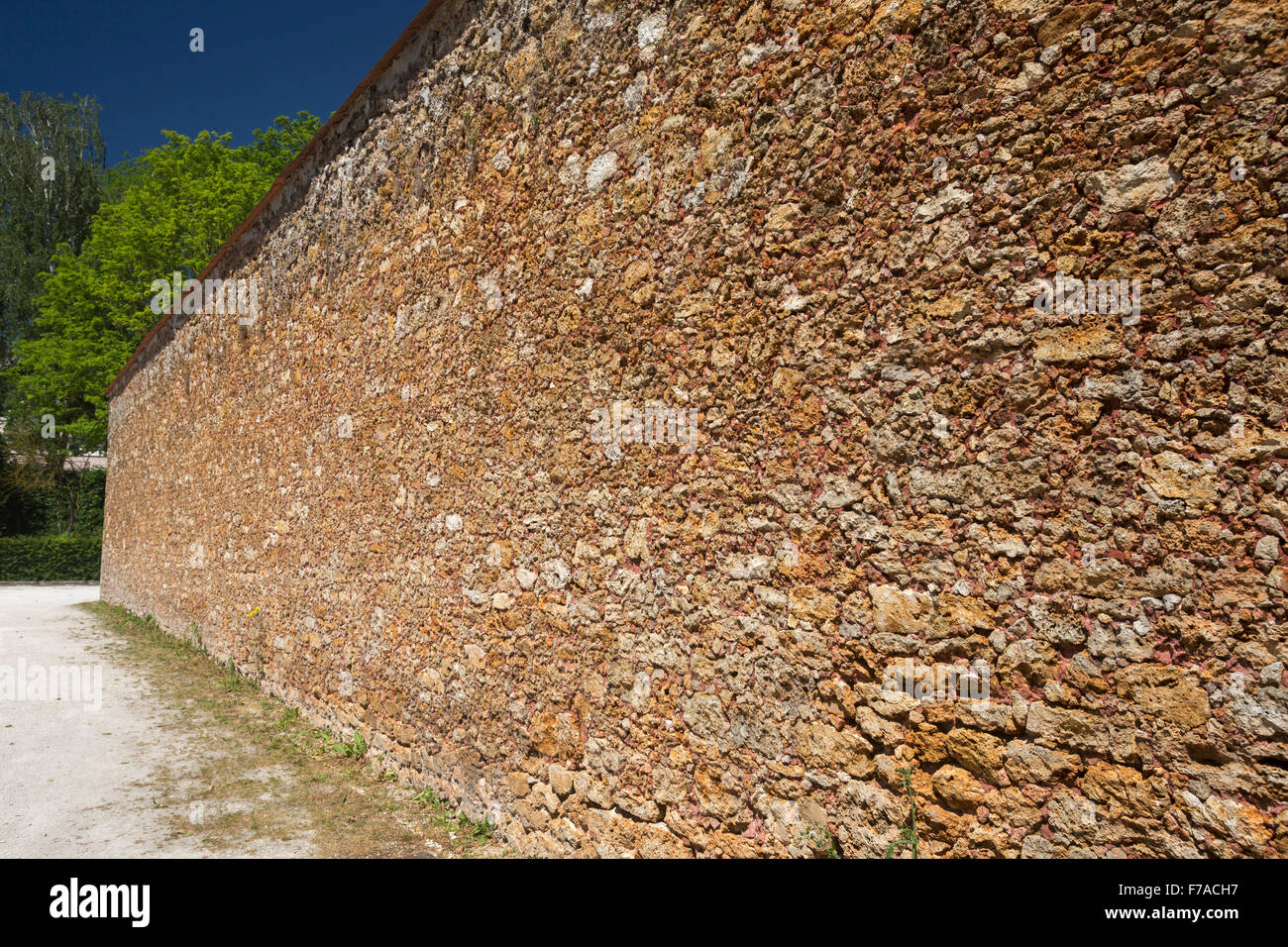 the gritstone outer walls of the old prison of coulommiers france stock photo royalty free. Black Bedroom Furniture Sets. Home Design Ideas