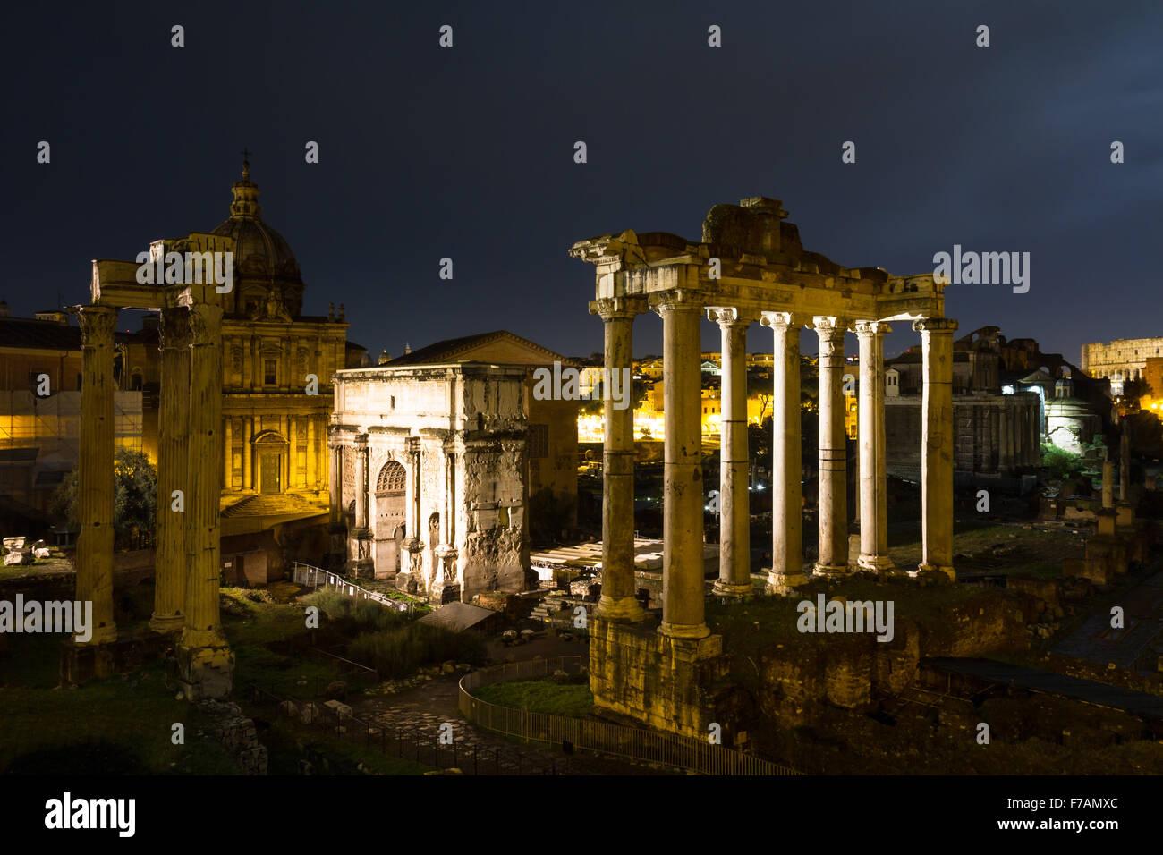 Forum Romanum Rome Italy Stock Photos &- Forum Romanum Rome Italy ...